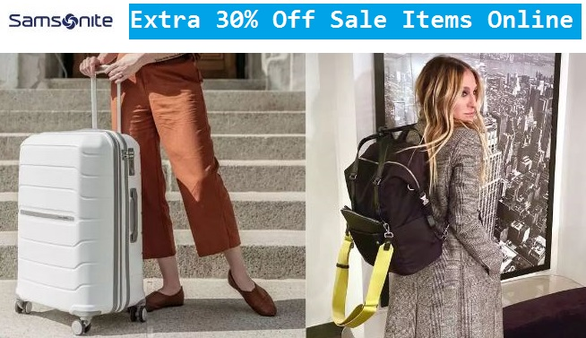 samsonite sale items coupon