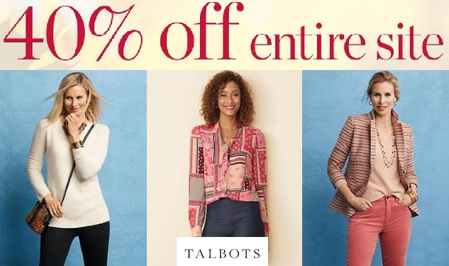 talbots fall sale items