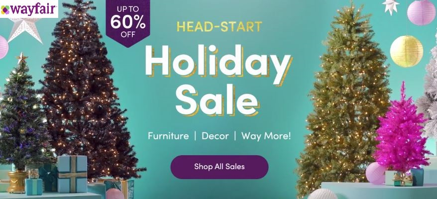 Wayfair Holiday Sale Deals