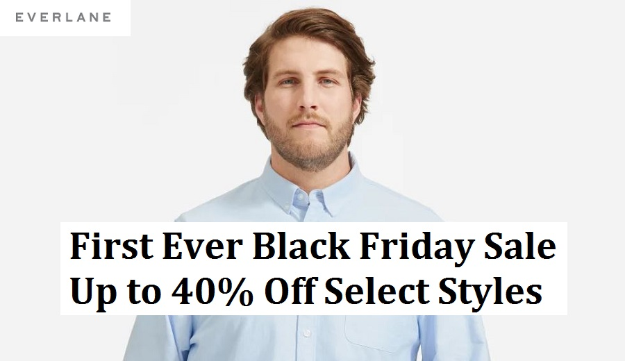 Everlane Black Friday Sale 2020