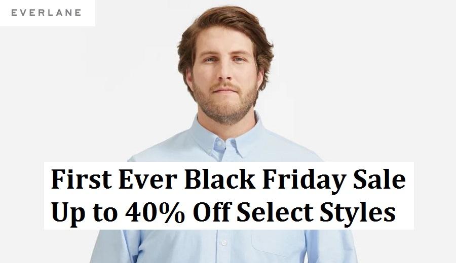 Everlane Black Friday Sale 2020