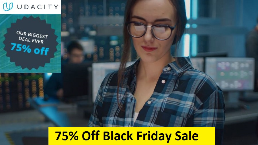 Udacity Black Friday Sale