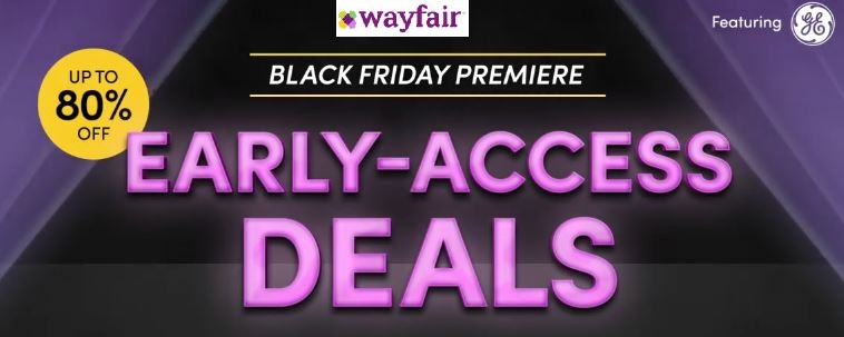 Wayfair Black Friday Sale 2020