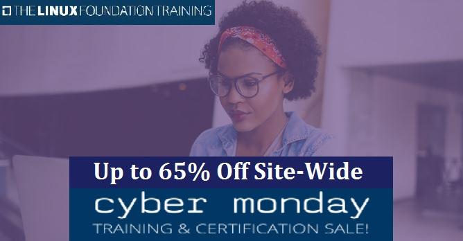 Linux Foundation Cyber Monday Sale 2020