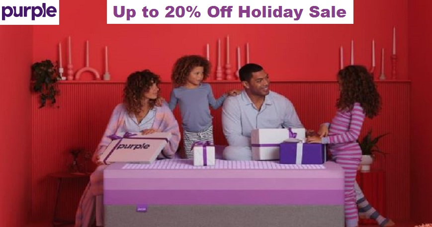 Purple Mattress Holiday Sale 2020