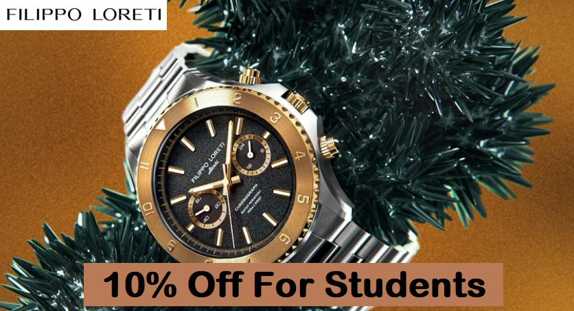 filippo loreti student discount