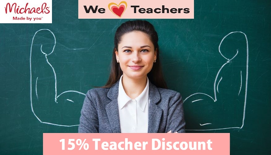 michaels teacher discount