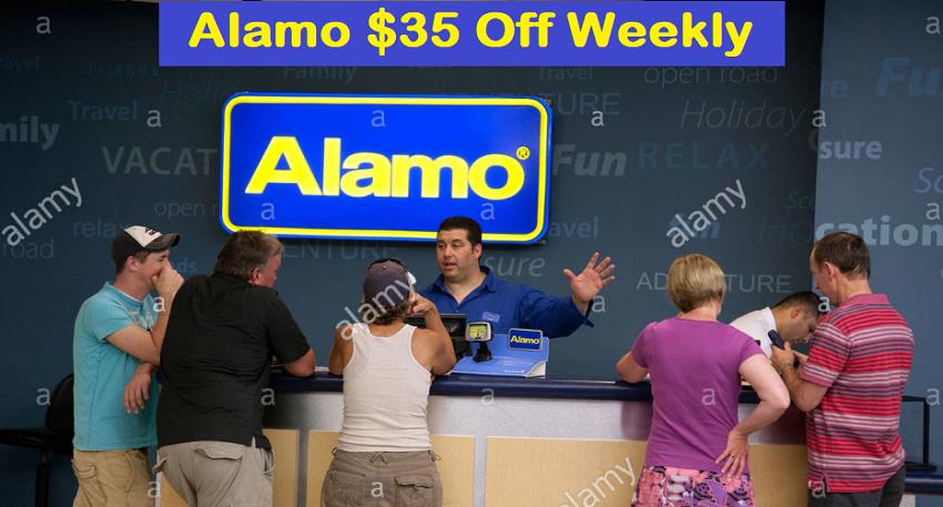 Alamo $35 Off Weekly