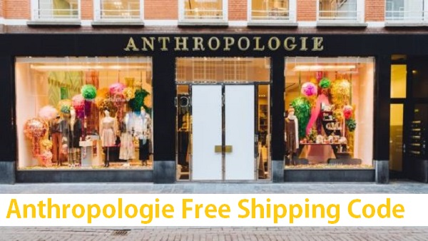 anthropologie free shipping code