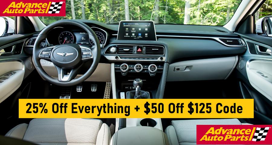 advance auto coupons $50 off $125