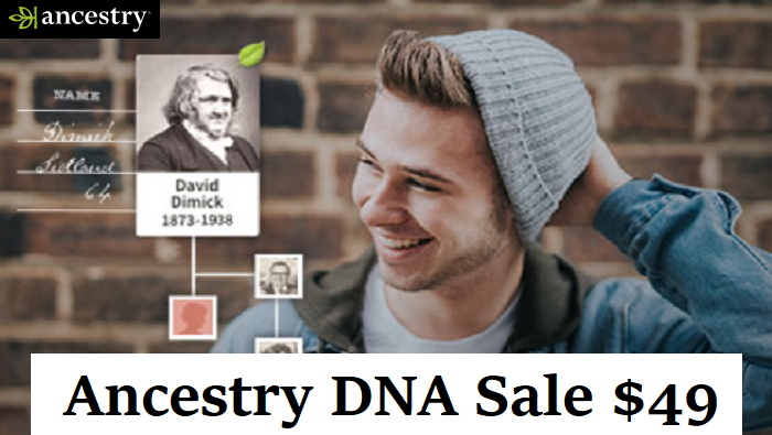 ancestry dna sale $49