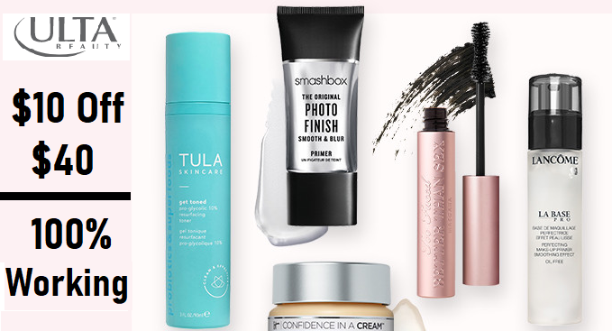 ulta coupon $10 off $40