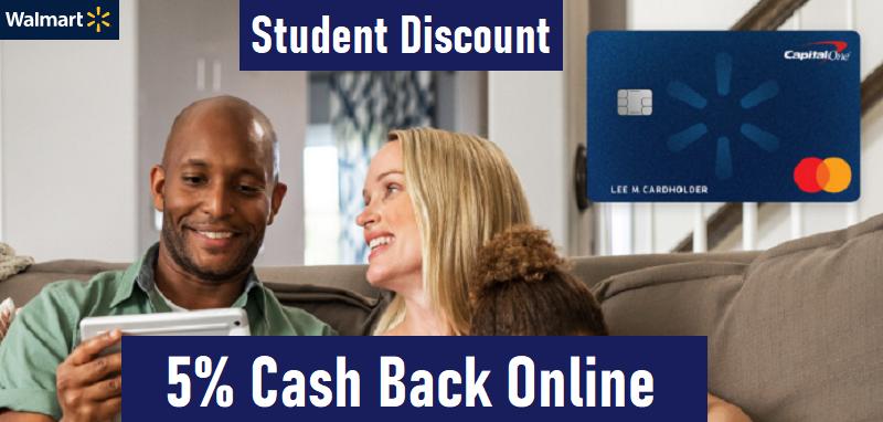 walmart student discount