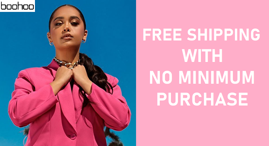Boohoo Free Shipping No Minimum