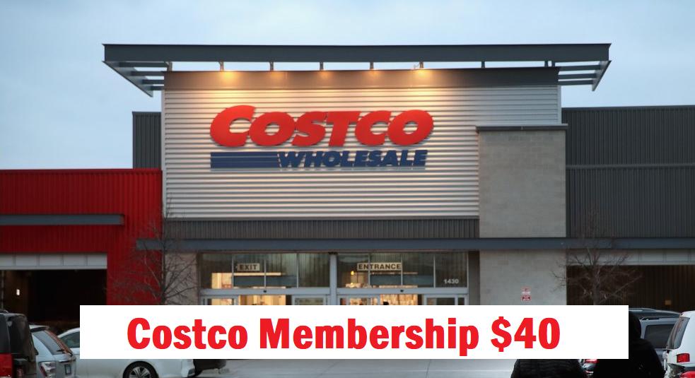 costco membership $40