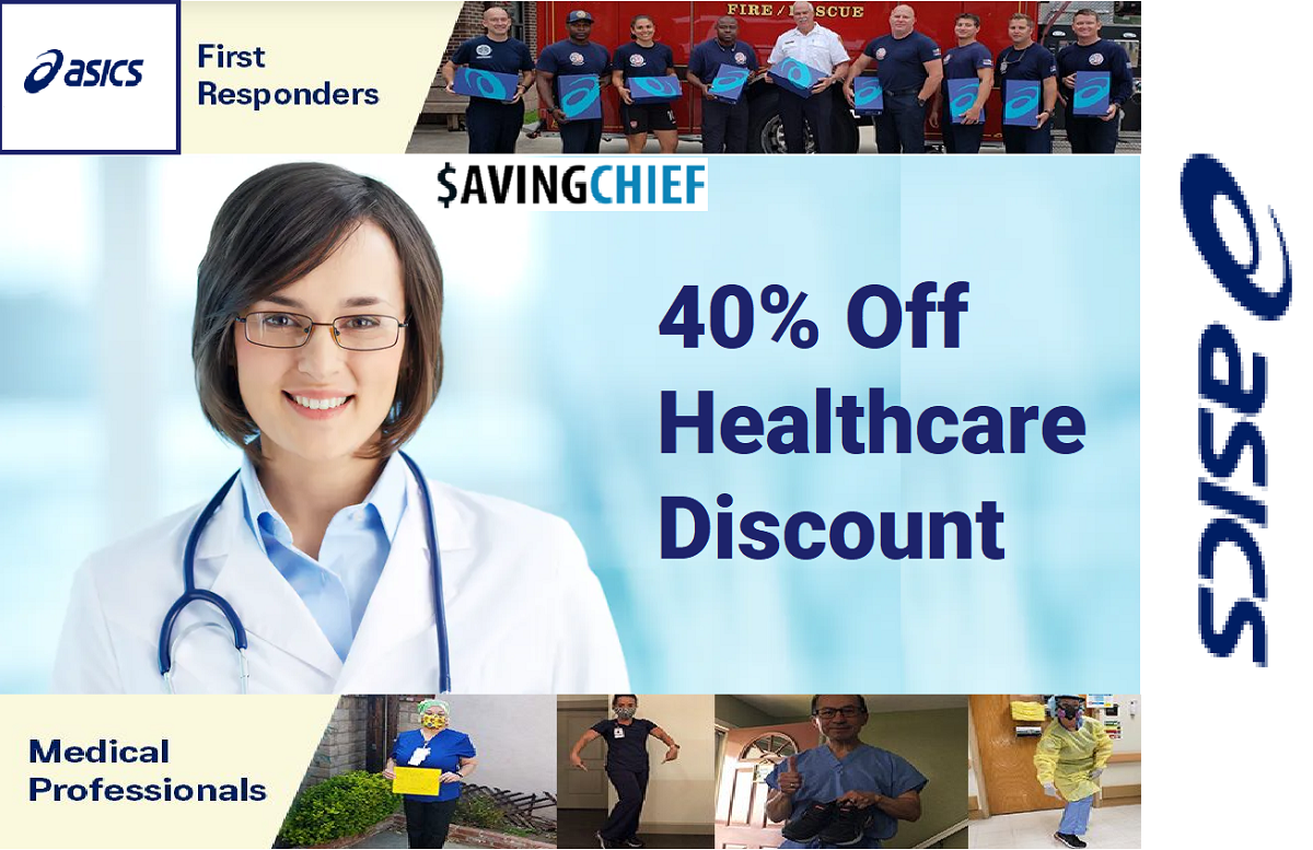 ASICS healthcare discount