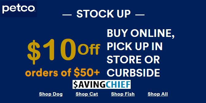 $10 petco coupon