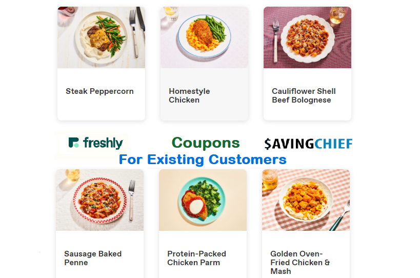 freshly coupons for existing customers